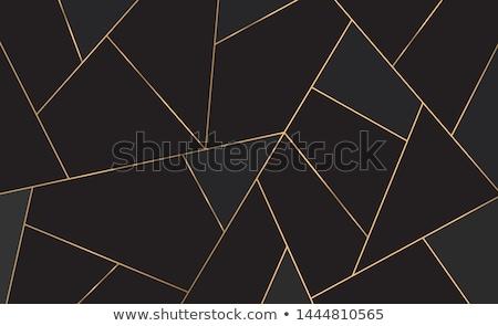 Preto praça geometria vetor construção abstrato Foto stock © blaskorizov