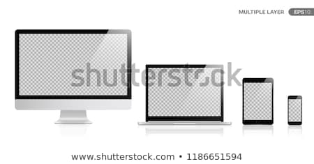 ストックフォト: 現実的な · 白 · 孤立した · 黒