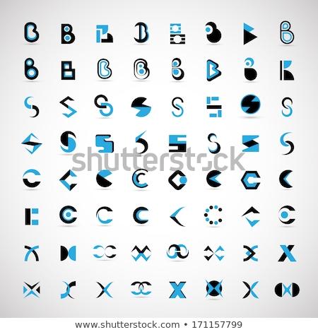 letter x and c logo icon vector design Stock photo © blaskorizov