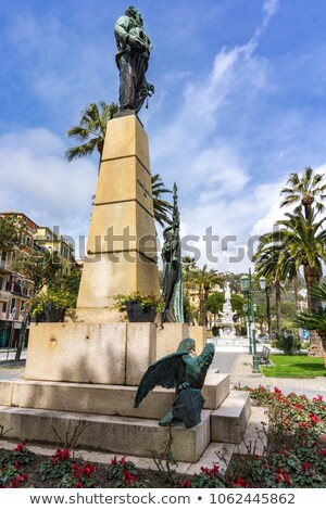 monument to victor emmanuel ii in santa margherita ligure italy stock photo © boggy
