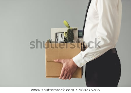 Boss in Office, Director Firing Man Bad Employee Stock photo © robuart