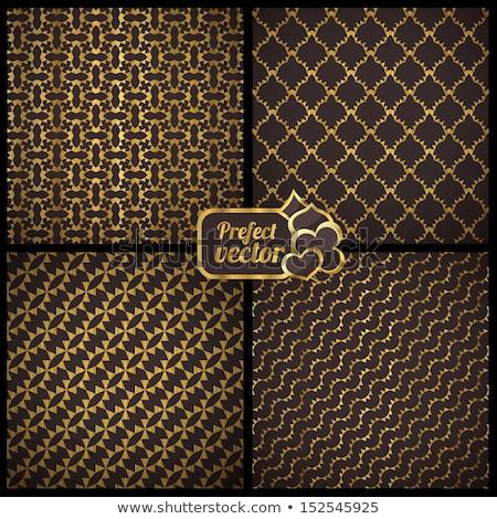 Casino koninklijk lijn patroon schets ontwerp Stockfoto © Anna_leni