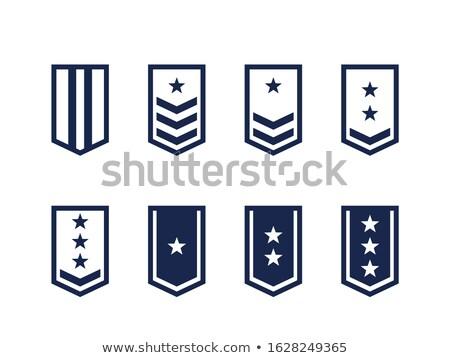Zdjęcia stock: Military Army Enlisted Ranks Insignia