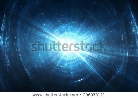 Zoom fény sugarak futurisztikus terv zene Stock fotó © SArts