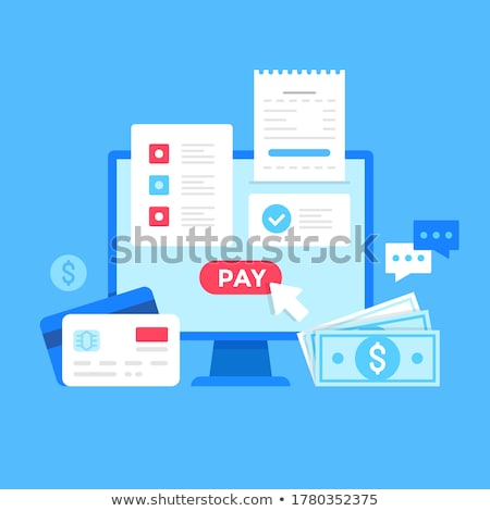 Internet ordering goods Stock photo © jossdiim