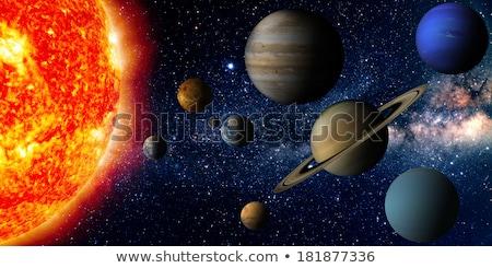 kolorowy · przestrzeni · mgławica · gwiazdki · elementy · obraz - zdjęcia stock © NASA_images