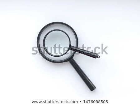 Two magnifying glasses Stock photo © nomadsoul1