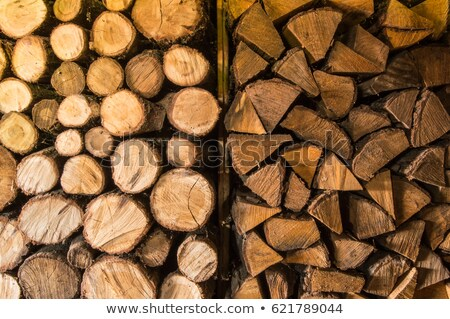 Firewood in holder Stock photo © nomadsoul1
