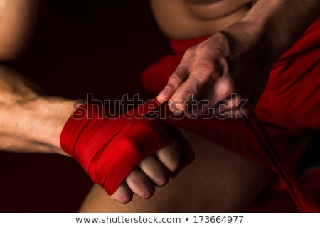 Kick Boxer Getting Ready Stock photo © Jasminko