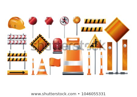 Construction Zone, Building Project, Repair Vector Stock photo © robuart
