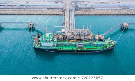 vessel of crude oil anchored Stock photo © experimental