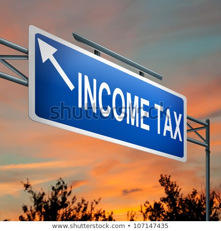 Tax Services Highway Sign Stock photo © kbuntu