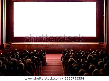 üres auditórium üzlet konferencia képernyő színpad Stock fotó © Paha_L