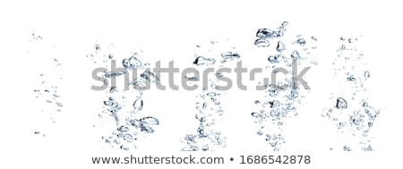 Kabarcıklar su ışık arka plan sualtı grafik Stok fotoğraf © christina_yakovl