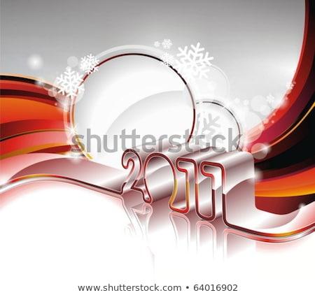 Streszczenie 2011 tapety działalności szczęśliwy technologii Zdjęcia stock © pathakdesigner