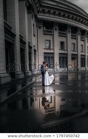 Sposa Opera teatro wedding faccia donne Foto d'archivio © Massonforstock
