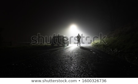 孤独 · 道路 · 道路 · 旅行 · アスファルト - ストックフォト © broker