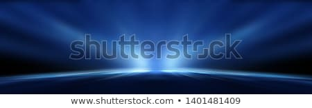 Abstract Blue Light Ray Background Stock photo © swatchandsoda