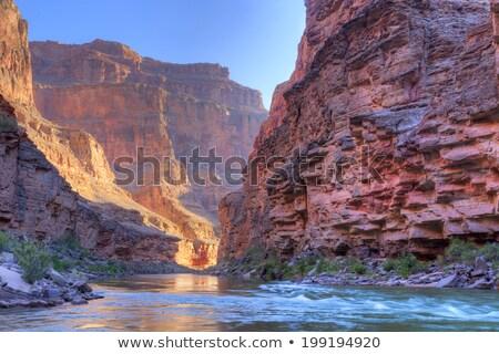 vízszintes · kilátás · Grand · Canyon · napfelkelte · naplemente · utazás - stock fotó © ca2hill