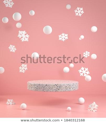 Primitive snowball Stock photo © pzaxe