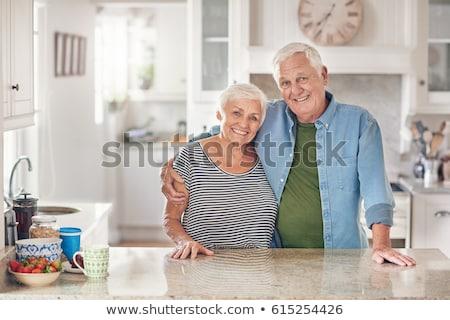 Portre sadık çift kadın eller sevmek Stok fotoğraf © photography33