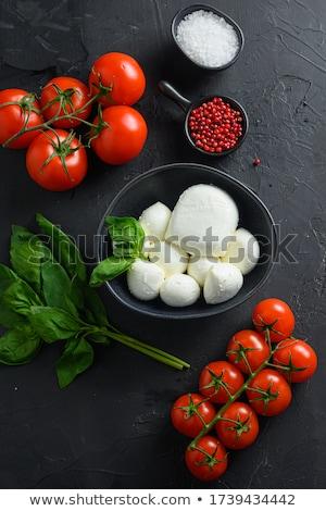 Капрезе · моцарелла · помидоров · итальянской · кухни · сыра · продовольствие - Сток-фото © shamtor
