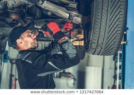 Shocked laborer Stock photo © photography33