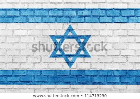 grunge · israelense · bandeira · velho · vintage · textura · do · grunge - foto stock © creisinger