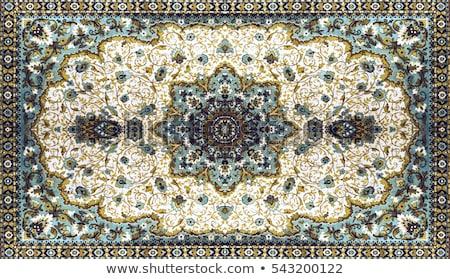 türk · halı · arka · plan · sanat · kırmızı · Asya - stok fotoğraf © gromovataya