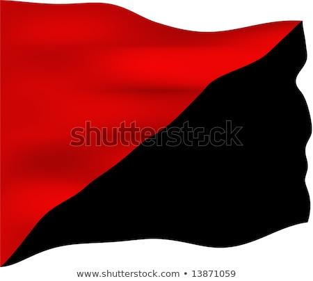 Anarcho Communist movemnet flag Stock photo © stevanovicigor