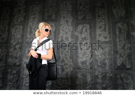 Woman with an attache case Stock photo © photography33