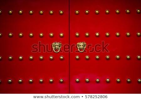 china door stock photo © witthaya