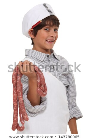 Little boy dressed as butcher Stock photo © photography33