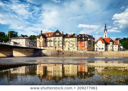 歴史的 · 川 · ミュンヘン · ドイツ · 水 · 建物 - ストックフォト © haraldmuc