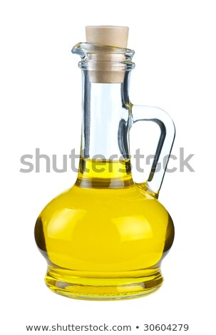 Small decanter with olive oil Stock photo © digitalr
