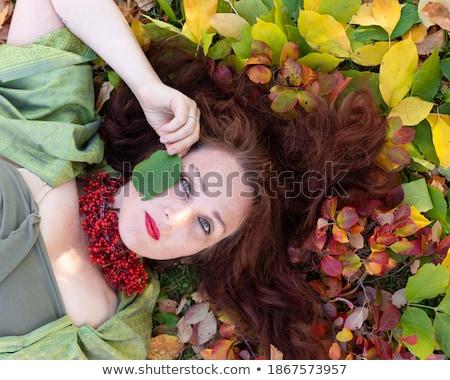 Ardiente lápiz de labios ilustración negro diseno mujer Foto stock © dvarg