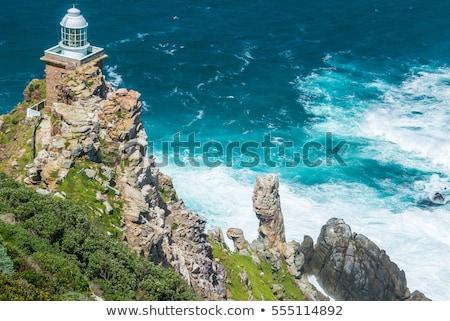 Cape Point Lighthouse stock photo © bradleyvdw