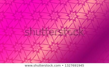 Autumn banner with precious gemstone, vector illustration Stock photo © carodi