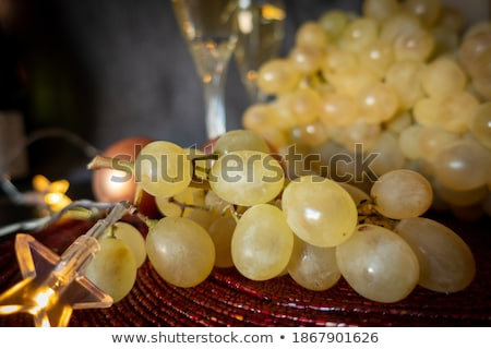 spanish cava and the twelve grapes of luck Stock photo © nito