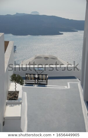 The greek terrace Stock photo © Steevy84