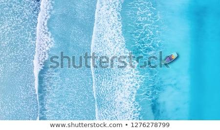 Clear water seascape Stock photo © elwynn