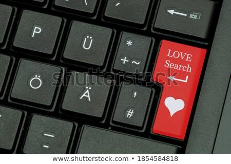 сердце стрелка интернет знакомства веб почты Сток-фото © alexmillos
