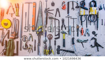 Stock photo: Clamp for the store