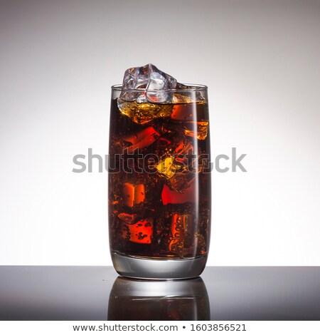Póréhagyma jégkocka izolált fehér víz étel Stock fotó © Tomjac1980