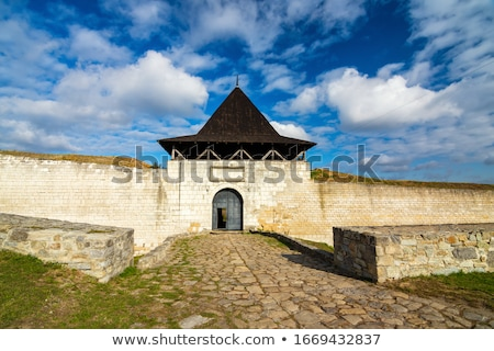 Historically a fortress Chocim.     Stock photo © EFischen