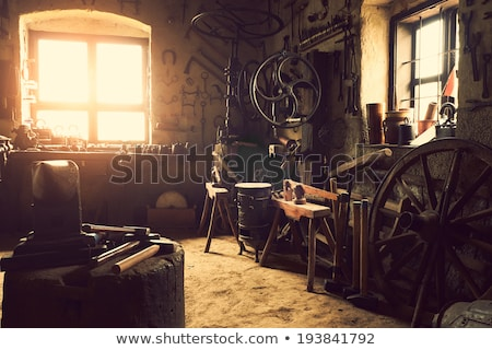 Stock photo: old workshop