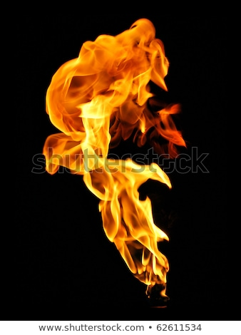 факел пламя ночь огня пламени религии Сток-фото © meinzahn