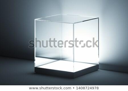 empty show window Stock photo © ssuaphoto