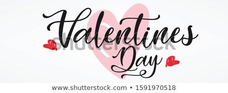 Foto stock: Valentine · 14 · amor · colorido · harmonia · surpreendente