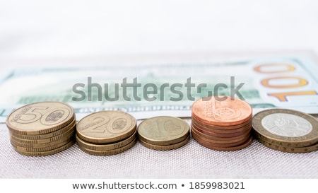 One dollar and one hundred rubles Stock photo © Valeriy